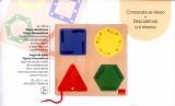 Geometrické tvary – provlékánka Goula
