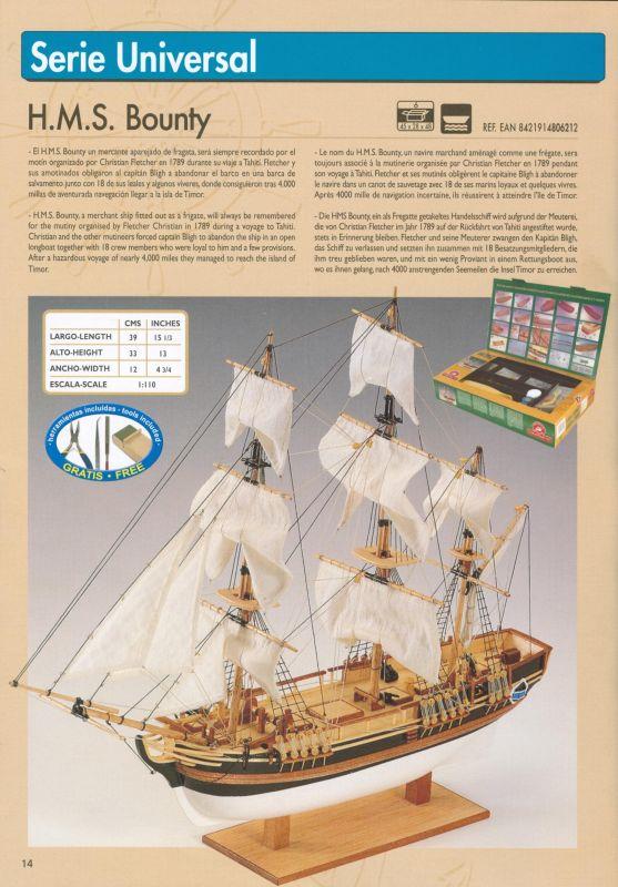 H.M.S. Bounty Constructo