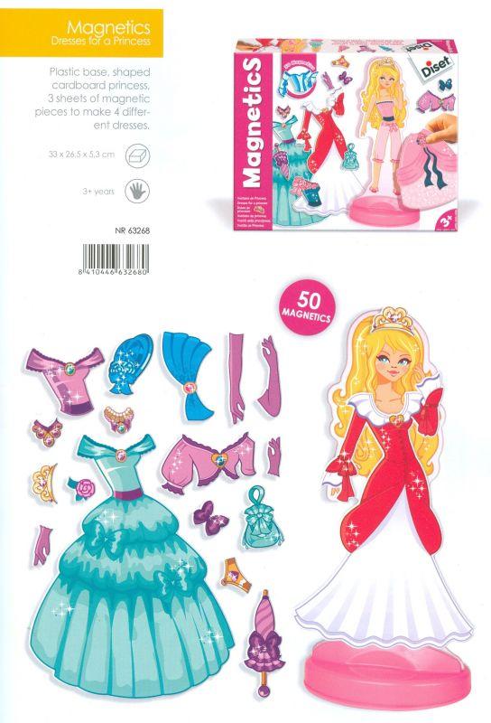 Magnetické oblečení princezny Diset