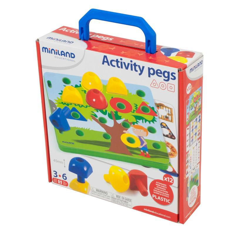 Activity Pegs Miniland