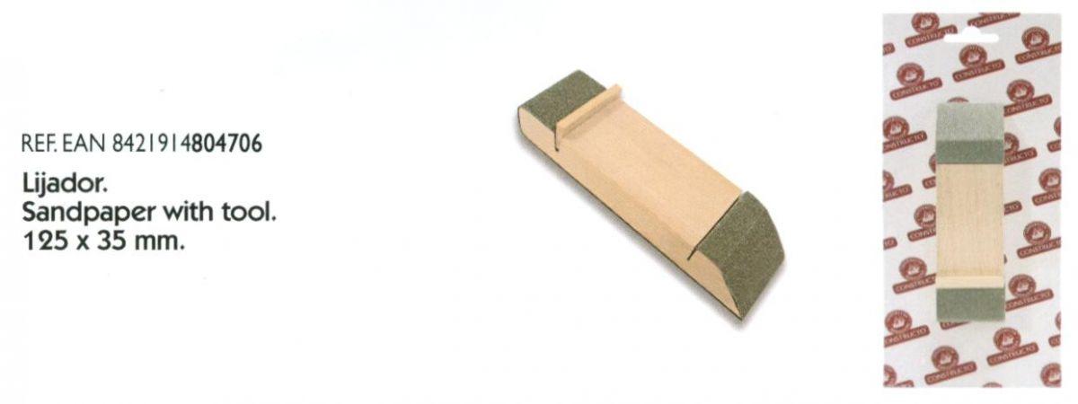 Modelářské brousítko - 125x35 mm Constructo