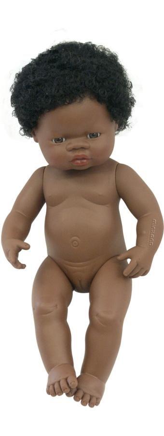 Děvče Afrič. 38cm Miniland