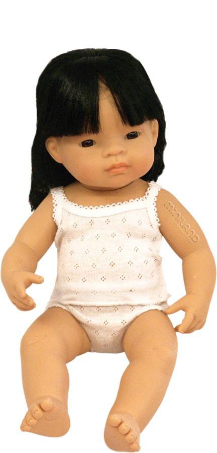 Děvče Asiatka 38 cm Miniland