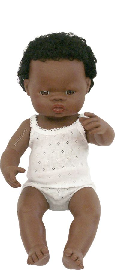 Chlapec Afričan 38 cm Miniland