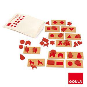 Plošné tvary Goula