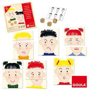 Výrazy tváře Goula