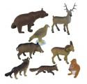 Lesní zvířata 8ks box