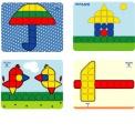 Mozaika sada Miniland
