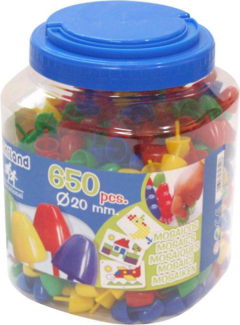 Mozaikové prvky 650ks Miniland