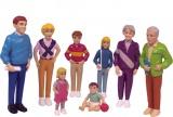 Evropská rodina - 8 figur Miniland