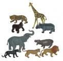 Divoká zvířata 9 ks box