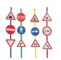 Dopravní značky sada 12ks Italveneta Didattica
