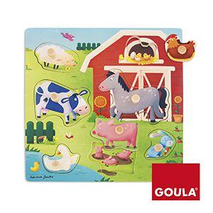 Farma máma a mládě Goula