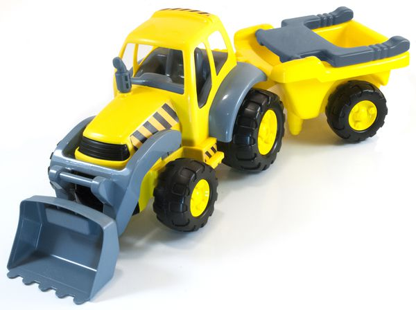 Super traktor+vlek Miniland