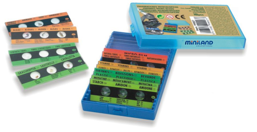 Mikroskopické preparáty Miniland