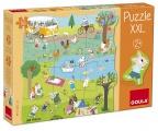 Puzzle XXL aktivity Goula