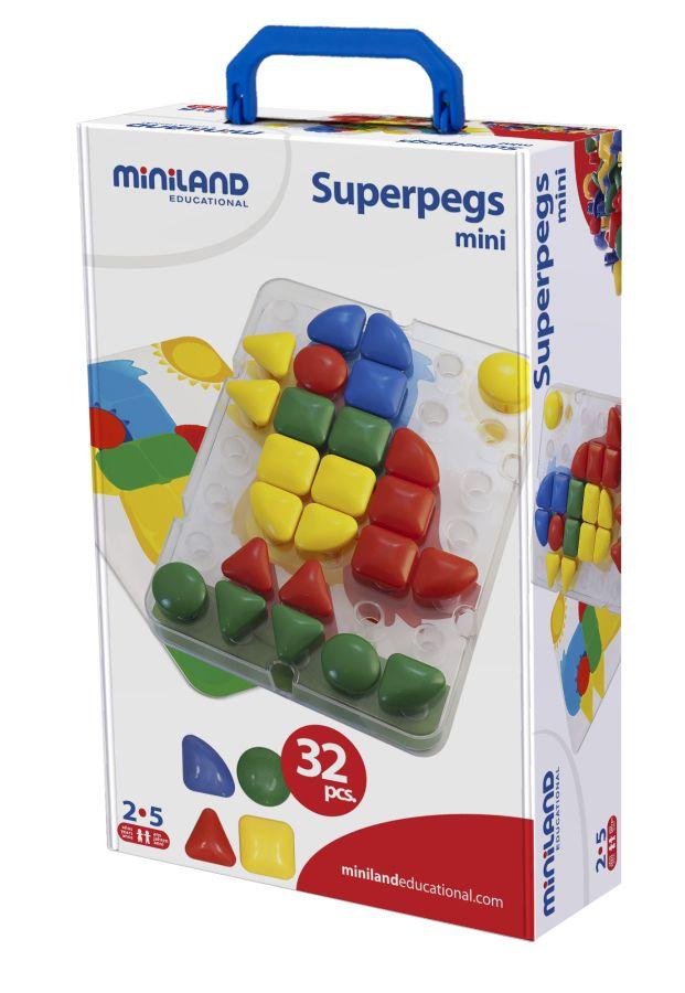 Superpegs mini 32ks Miniland