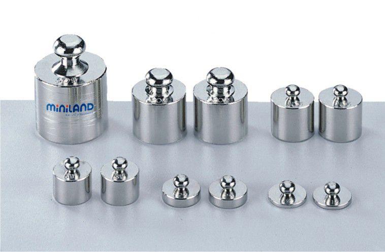 Závaží kovové 11 ks Miniland