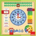 Kalendář a hodiny Goula