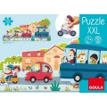 Puzzle XXL Doprava Goula