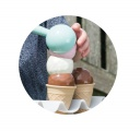 Zmrzlinový set 56ks Dantoy