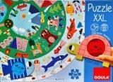 Kruhové puzzle XXL