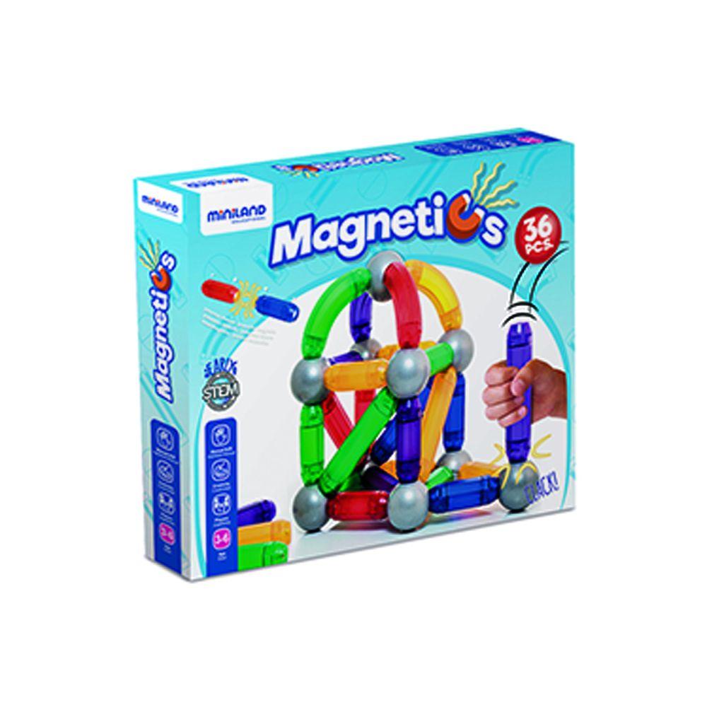 MAGNETICS 36 dílů Miniland
