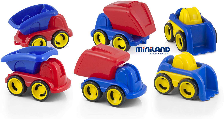 Minimobil Dumpy sada 6ks Miniland