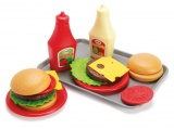 Hamburger 17ks Dantoy