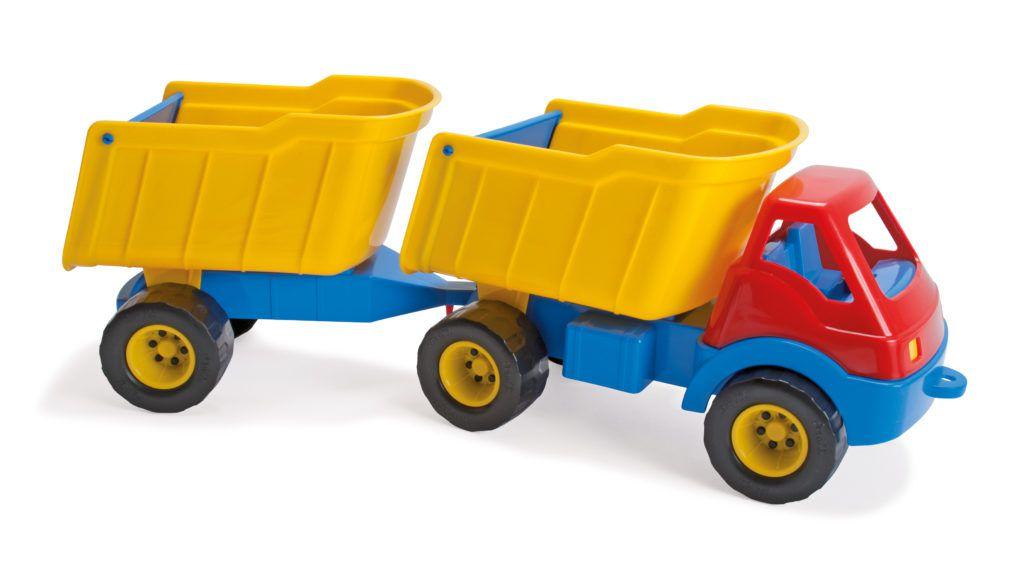 Nákladní auto s návěsem Dantoy