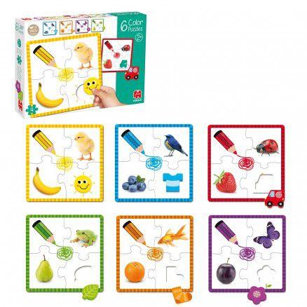 Puzzle Barvy Goula