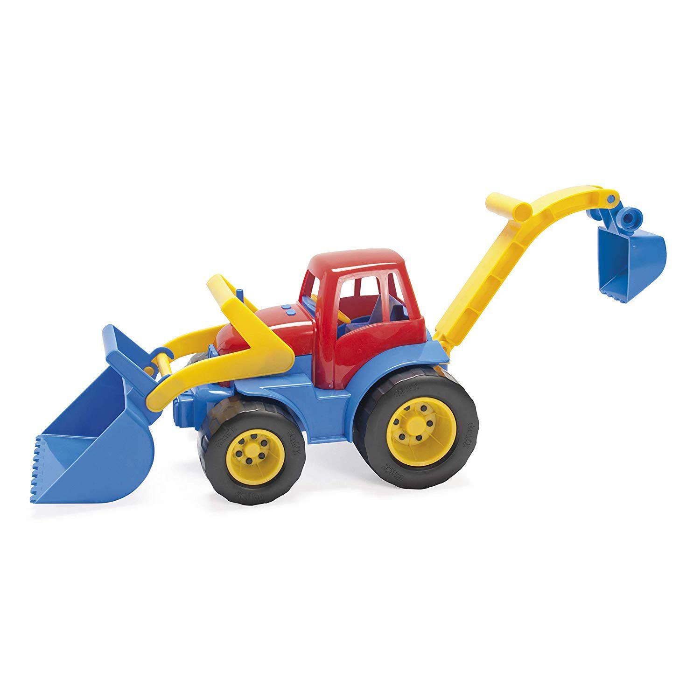 Traktor s radlicí + lopata Dantoy