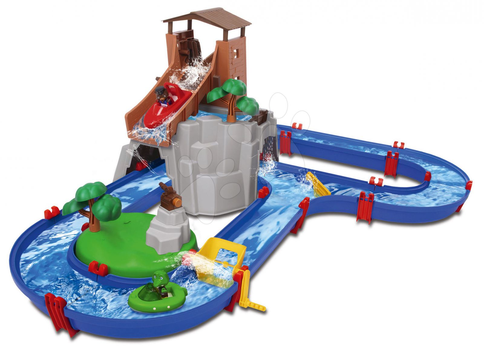 Vodní dráha s vodopádem Aquaplay