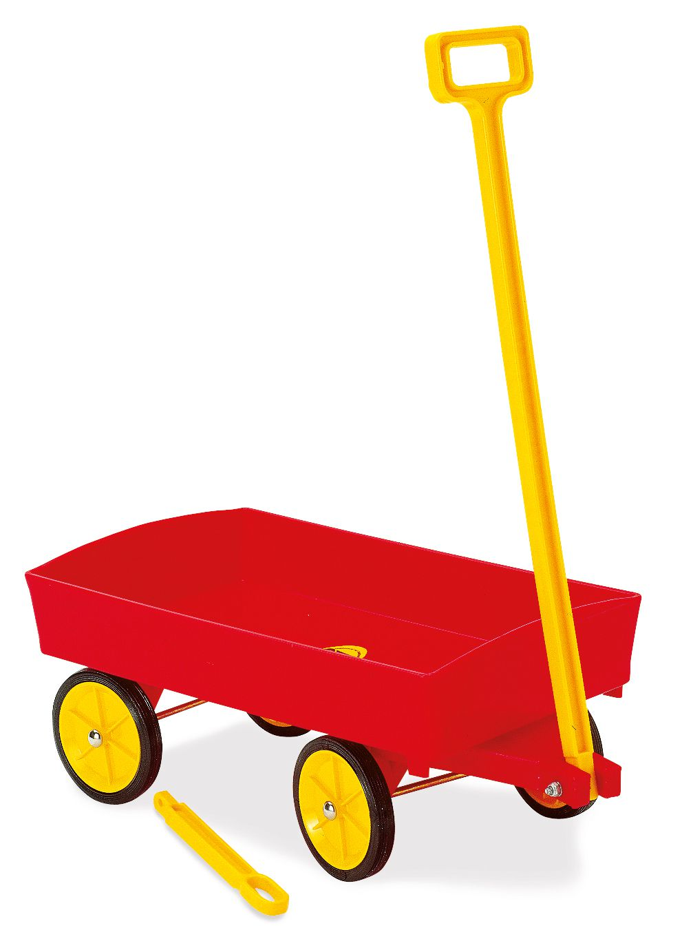 Vozík s gumovými koly Dantoy